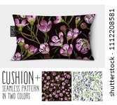design vector pillow  cushion . ... | Shutterstock .eps vector #1112208581