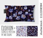 design vector pillow  cushion . ... | Shutterstock .eps vector #1112208584
