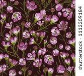 vector seamless  pattern ... | Shutterstock .eps vector #1112209184