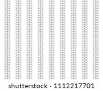 vector seamless pattern with... | Shutterstock .eps vector #1112217701