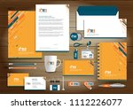 corporate identity business ... | Shutterstock .eps vector #1112226077