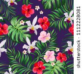 tropical seamless pattern with... | Shutterstock .eps vector #1112228081