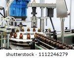 sterile bottles on the...   Shutterstock . vector #1112246279