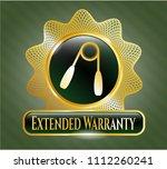 gold emblem wi gold emblem... | Shutterstock .eps vector #1112260241