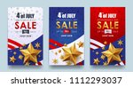 usa independence day sale... | Shutterstock .eps vector #1112293037