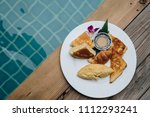 concept promotional morning... | Shutterstock . vector #1112293241