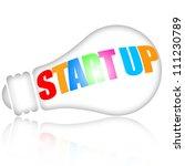 start up business concept   Shutterstock . vector #111230789
