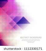 abstract colorful creative... | Shutterstock .eps vector #1112330171