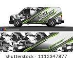 car decal design vector....   Shutterstock .eps vector #1112347877
