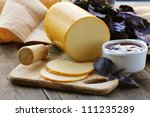 Smoked Cheese With Jam And...