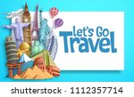 travel and tourism vector... | Shutterstock .eps vector #1112357714