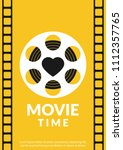 movie retro posters and flyer....   Shutterstock .eps vector #1112357765