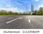 panoramic skyline and buildings ... | Shutterstock . vector #1112358659