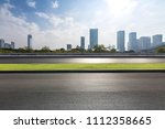 panoramic skyline and buildings ... | Shutterstock . vector #1112358665