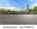 panoramic skyline and buildings ... | Shutterstock . vector #1112358671