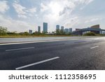 panoramic skyline and buildings ... | Shutterstock . vector #1112358695