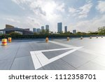 panoramic skyline and buildings ... | Shutterstock . vector #1112358701
