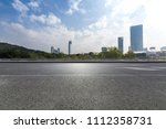 panoramic skyline and buildings ... | Shutterstock . vector #1112358731