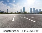 panoramic skyline and buildings ... | Shutterstock . vector #1112358749
