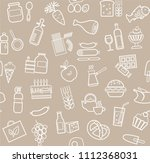 food and drinks  production and ...   Shutterstock .eps vector #1112368031