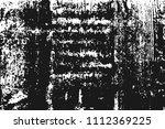 black grainy texture isolated... | Shutterstock .eps vector #1112369225