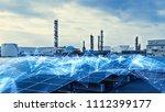 smart factory concept.... | Shutterstock . vector #1112399177