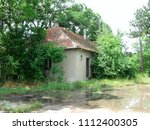 abandoned house in the... | Shutterstock . vector #1112400305