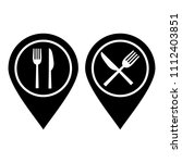 food place icon | Shutterstock .eps vector #1112403851