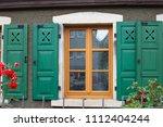 framework historical building... | Shutterstock . vector #1112404244