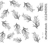 watercolour coral pattern | Shutterstock . vector #1112435051
