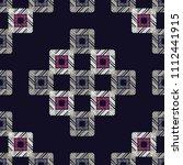 ethnic boho seamless pattern.... | Shutterstock .eps vector #1112441915
