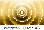 golden bitcoin cryprocurrency...