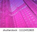 modern architecture. the... | Shutterstock . vector #1112452805
