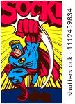 pop art vintage comics style...   Shutterstock .eps vector #1112459834