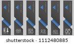 modern instant vertical toilet... | Shutterstock .eps vector #1112480885