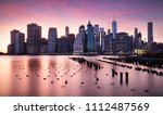 new york city skyline | Shutterstock . vector #1112487569