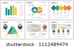 colorful finance or training... | Shutterstock .eps vector #1112489474