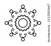 interaction design icon   Shutterstock .eps vector #1112502467