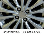 magnesium alloy wheels used... | Shutterstock . vector #1112515721
