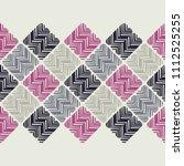 ethnic boho seamless pattern.... | Shutterstock .eps vector #1112525255