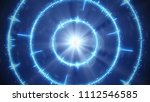 digital blue audio form... | Shutterstock . vector #1112546585