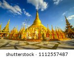 View Of Famous Myanmar Pagoda...
