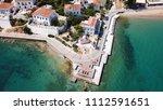 aerial drone bird's eye view... | Shutterstock . vector #1112591651