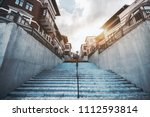 a wide angle shot from the... | Shutterstock . vector #1112593814