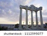 apollon temple  side  antalya... | Shutterstock . vector #1112595077