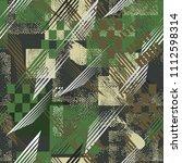 abstract seamless sport pattern ... | Shutterstock . vector #1112598314