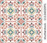 vector arabesque pattern.... | Shutterstock .eps vector #1112602091