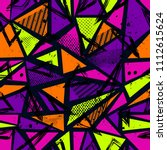 abstract seamless sport pattern ...   Shutterstock . vector #1112615624