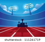 podium winners | Shutterstock . vector #111261719