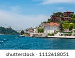 beautiful view of bosphorus...   Shutterstock . vector #1112618051